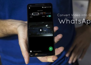 How to Convert Videos into GIFs inside WhatsApp
