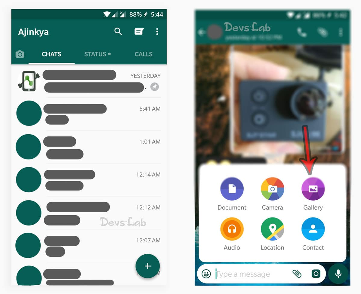 How to send GIFs in WhatsApp and convert video to GIFs