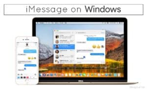 How to install and run iMessage on Windows PC Laptop