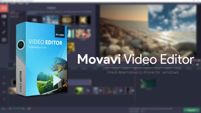 Movavi Video Editor: Great Alternative to iMovie for Windows
