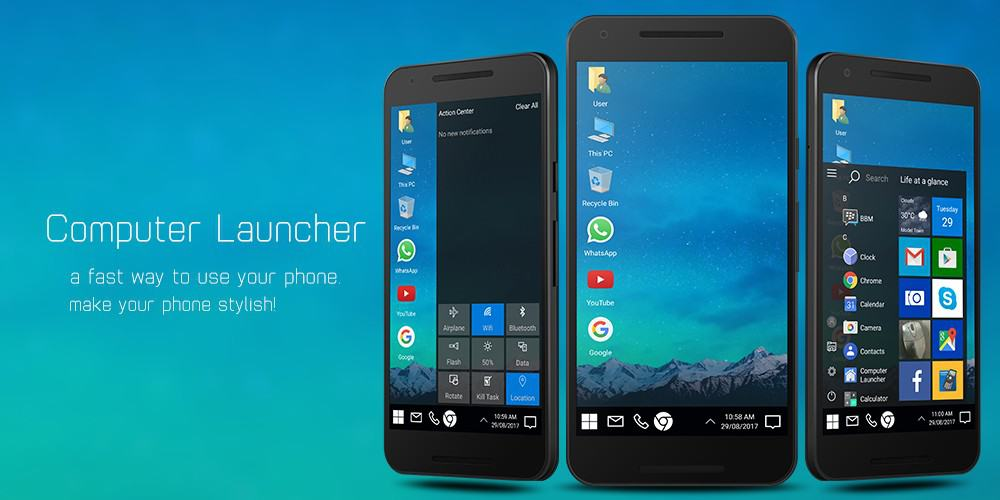 Top 5 weird & Interesting launchers to transform your Android phone's interface