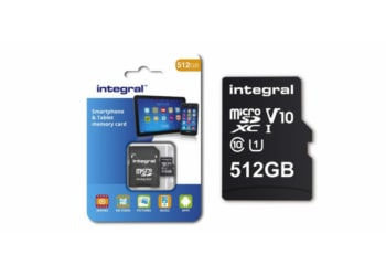 Integral Memory's newest microSD card stores up to 512GB of data; So far the largest capacity achieved by a microSD card!