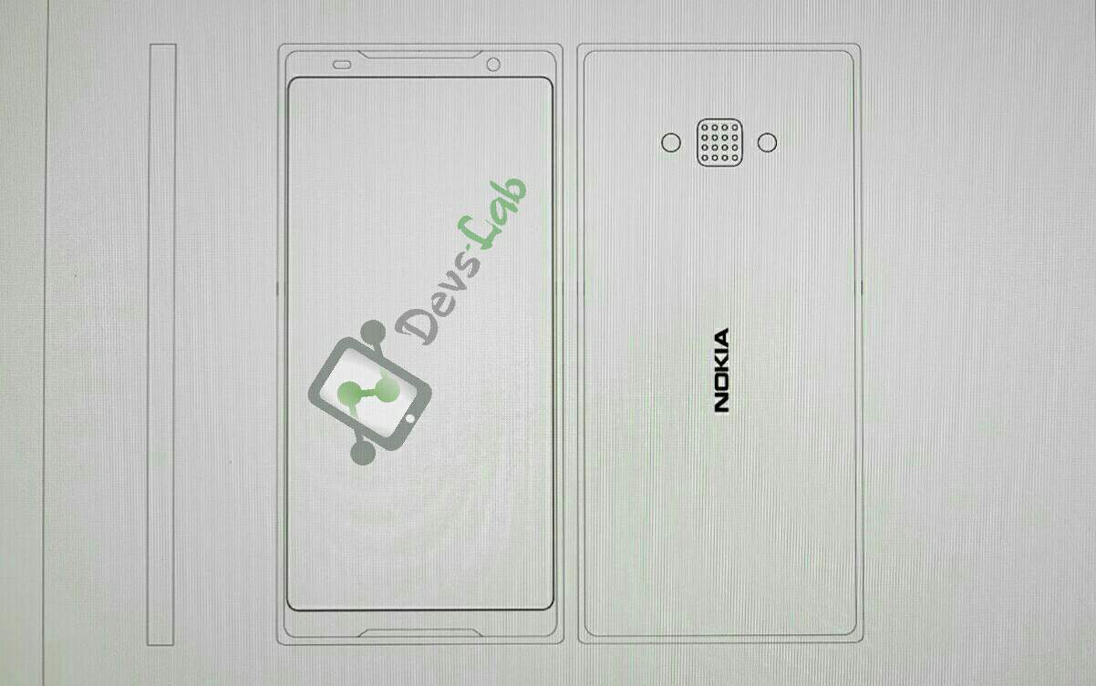 Exclusive: An unknown Nokia phone with dual-front firing speakers and 16-lens array camera spotted! Could this be the Nokia 10?
