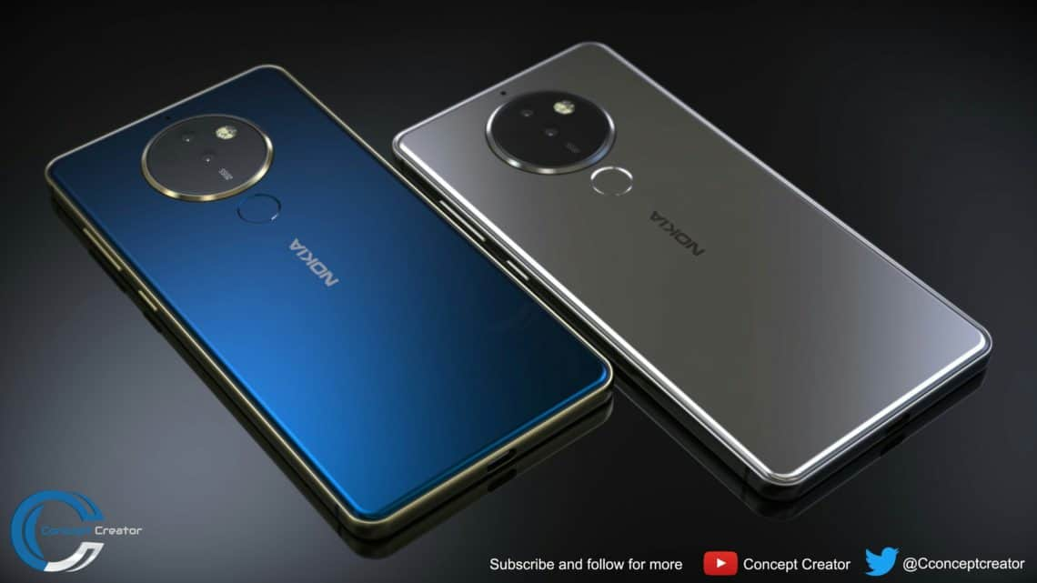 Nokia 10 render based-on-leak appears on YouTube, a true successor to Lumia 1020!