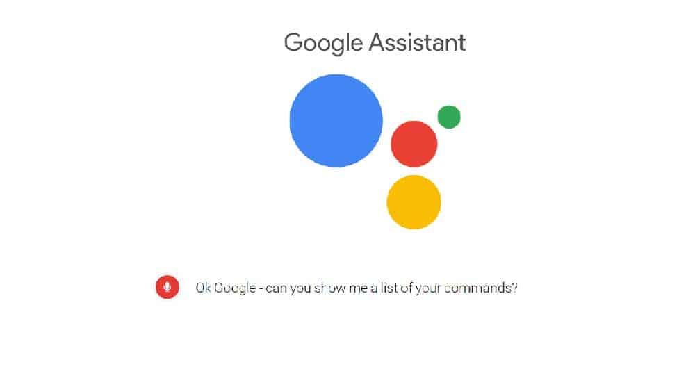 Google Assistant List of All commands