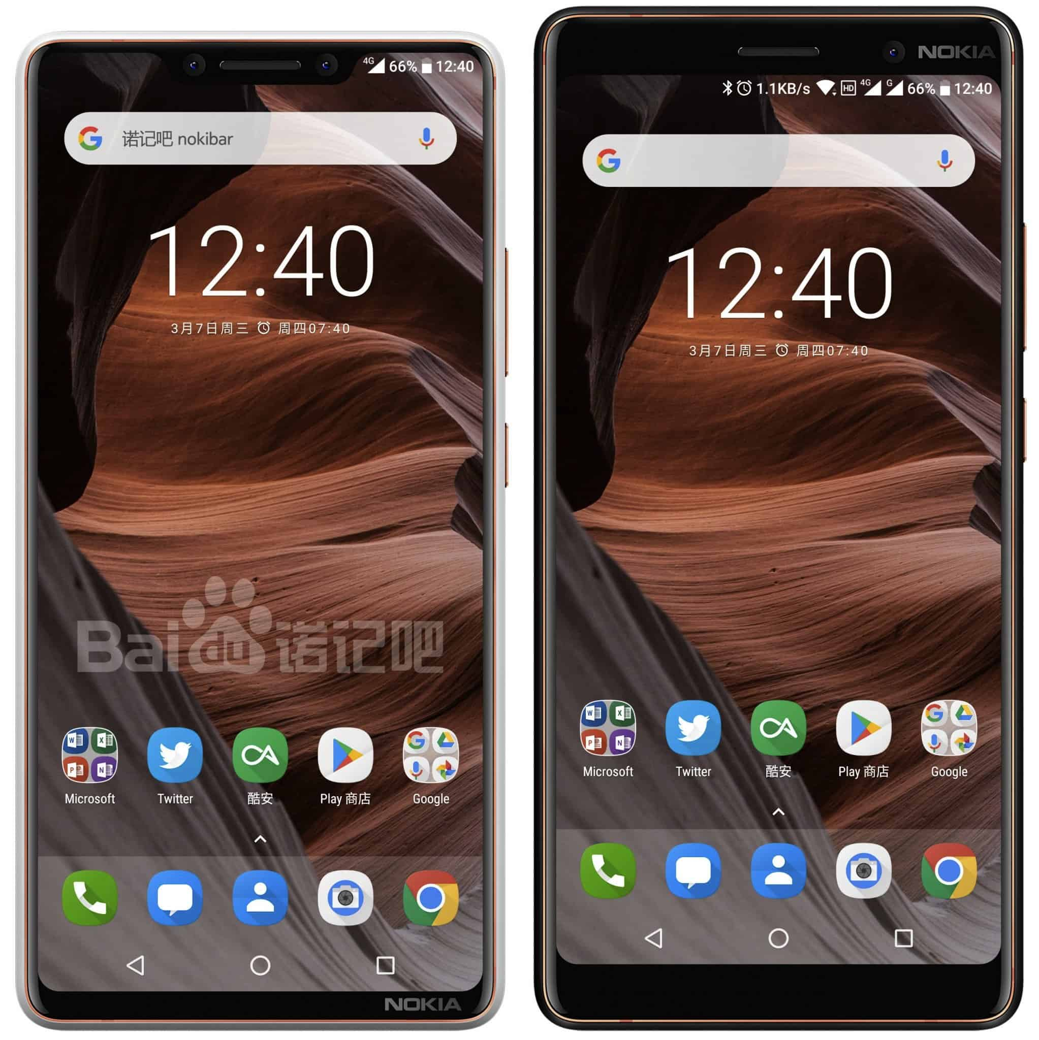 "[In Photos] Nokia 9 render leaks on Baidu; Shows a ""notched"" display"
