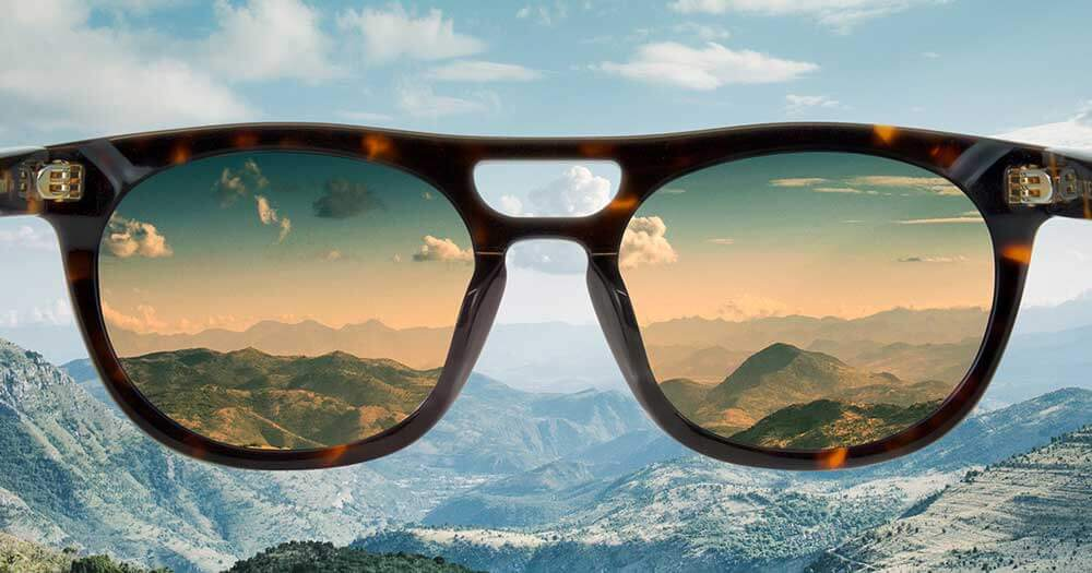 How to use Sunglasses as Photo filters hacks