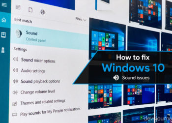 How to Fix Windows 10 Sound not working or no Audio issues after update