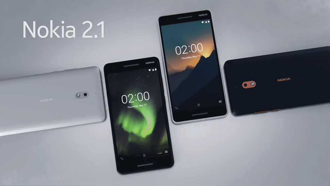HMD unveils new versions of the Nokia 2, Nokia 3 and Nokia 5