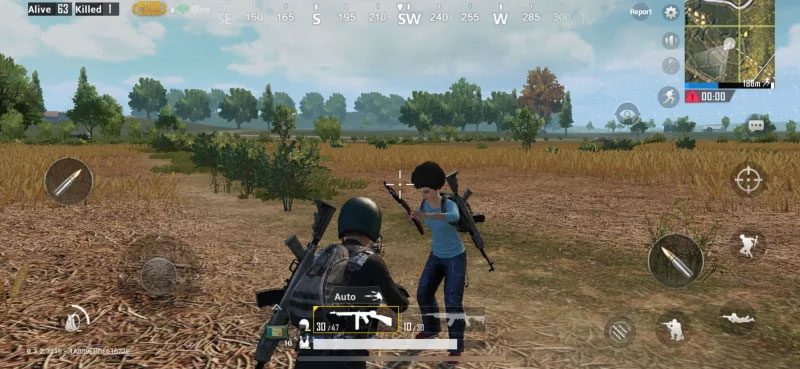 GamePlay of PUBG Mobile Game