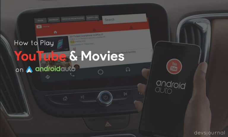 How to watch YouTube videos on Android Auto in any car