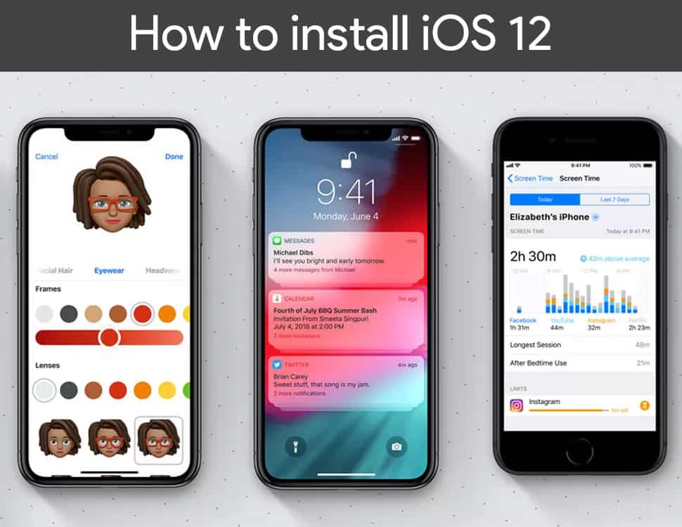 How to install iOS 12 on any iPhone device without Jailbreak