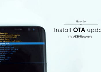 How to install sideload OTA update via ADB and recovery