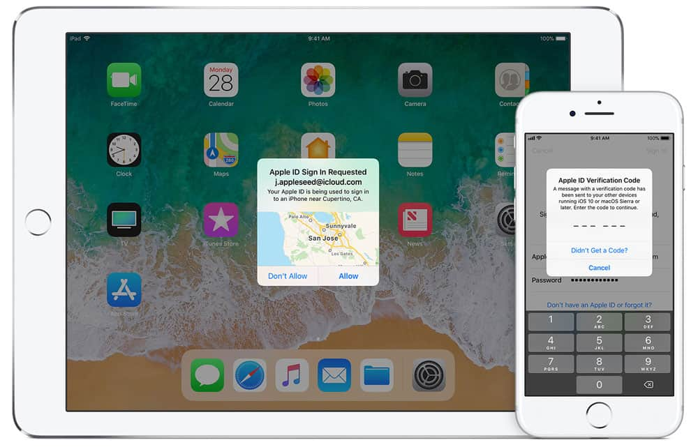 How to use Apple two factor Authentication to prevent Malware