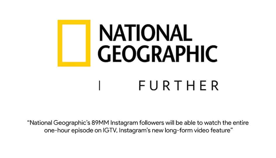 National Geographic will stream episode on IGTV