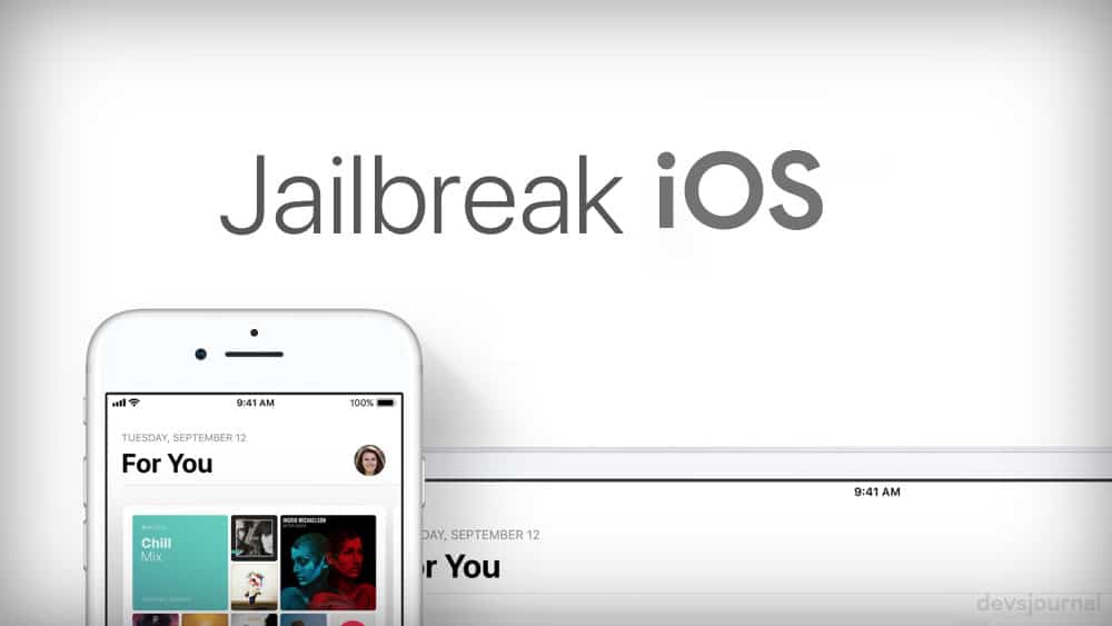 Never Jailbreak iOS device