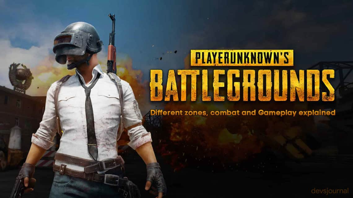 PUBG Mobile Different Zones combat Origin and Gameplay explained in detail
