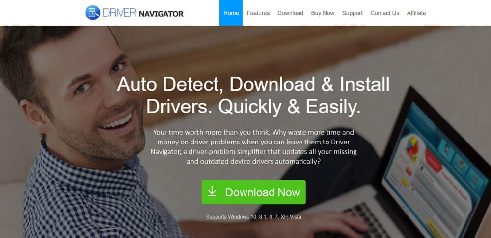 Driver Navigator Windows device driver updater software
