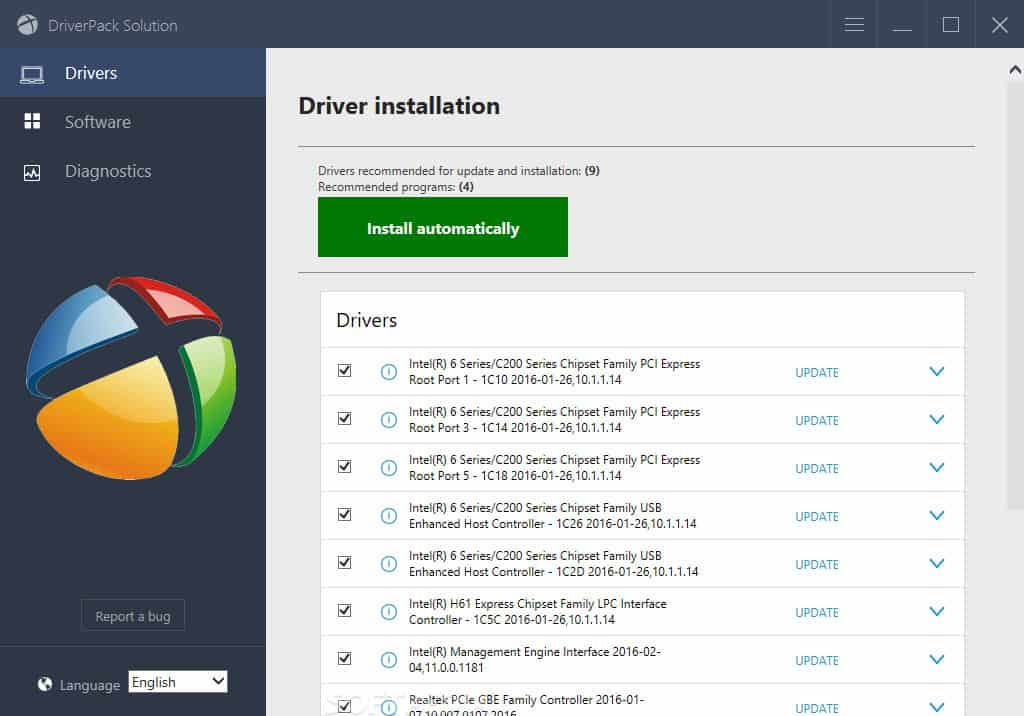 DriverPack Solution Best Windows driver updater software