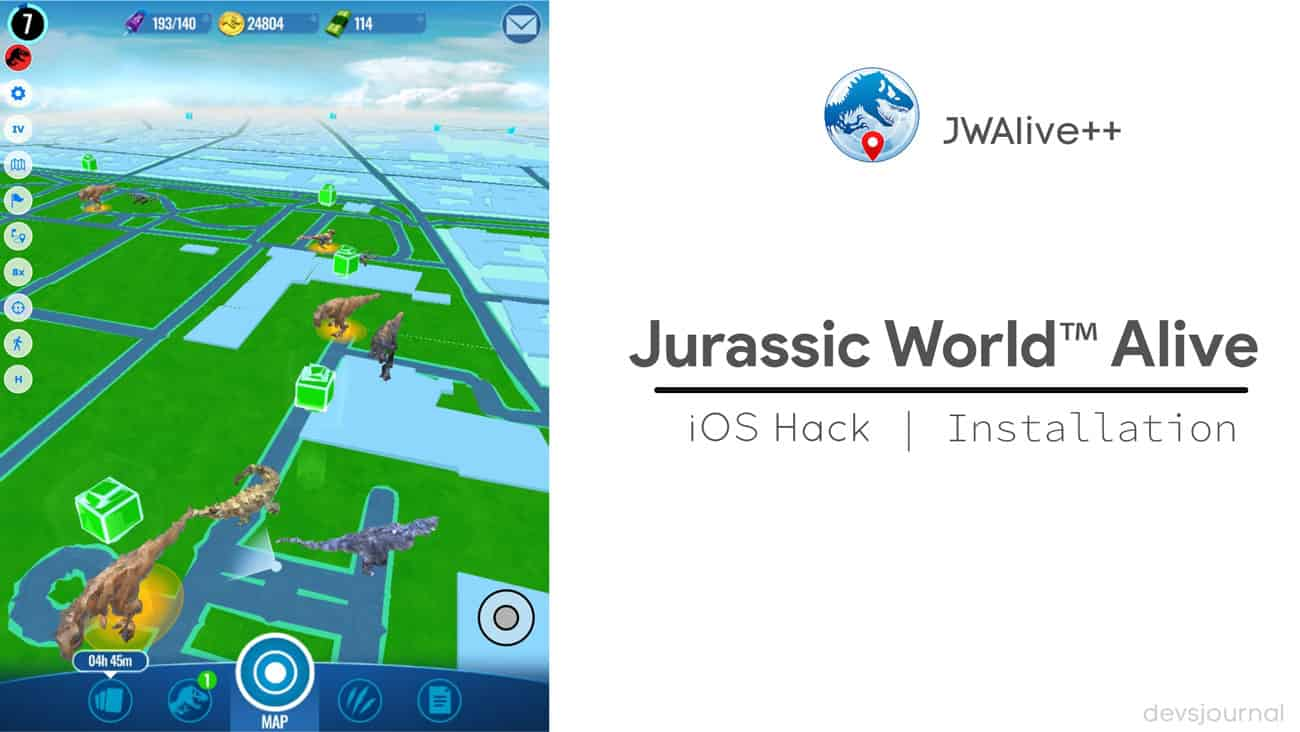 Download Jurassic World Alive (JWAlive) iOS hack (R27) (2019)
