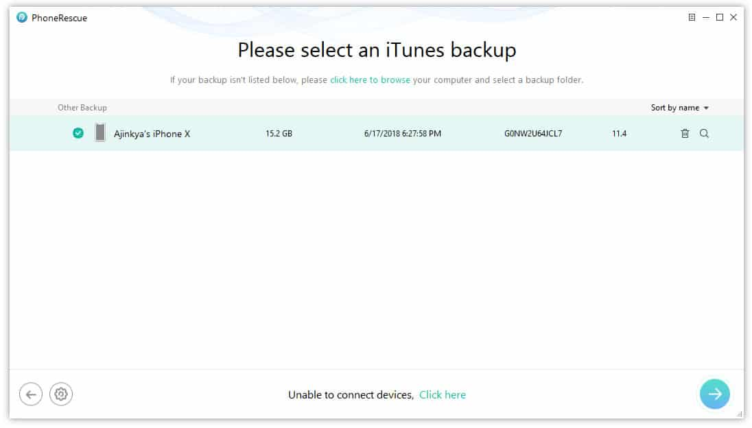 How to recovery iPhone data from iTunes backup on PC