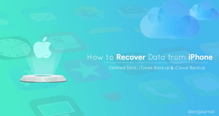How to recover lost Photos, Contacts or any data from iPhone, iCloud & iTunes