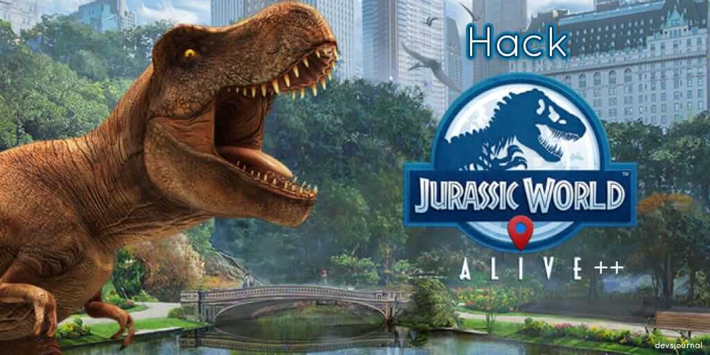 Jurassic World Alive iOS Spoofing Hack