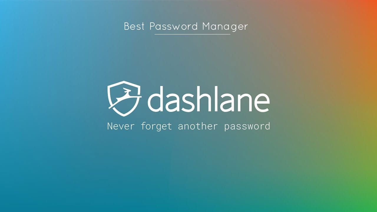 Dashlane Best Password Manager of 2018