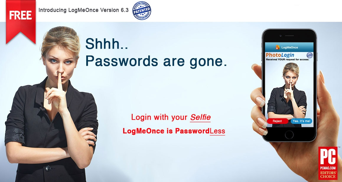 LogmeOnce the best Password Manager with iOS FaceID and Apple Photos