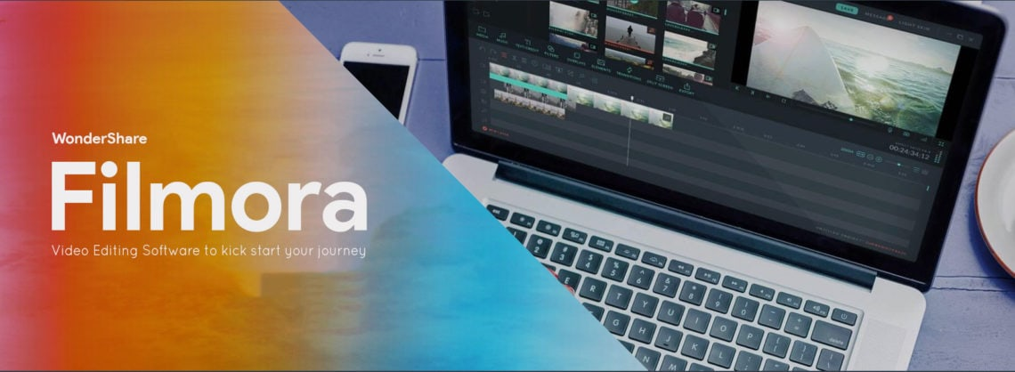 Wondershare Filmora: A video editing tool to start your YouTube journey.
