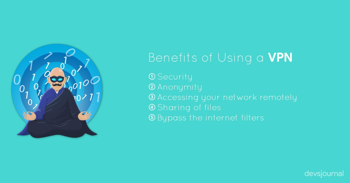 Benefits of using a VPN