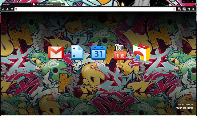 Marc Ecko Funny Google Chrome best theme