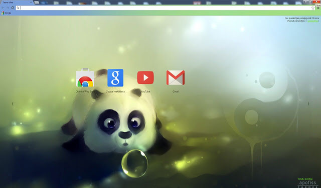 Panda Dumplings Best Google Chrome themes
