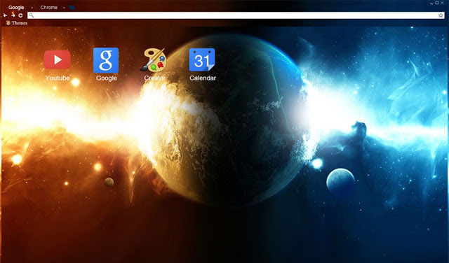 Planet Spaceix best Google Chrome themes