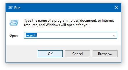 Regedit Windows Registry Editor