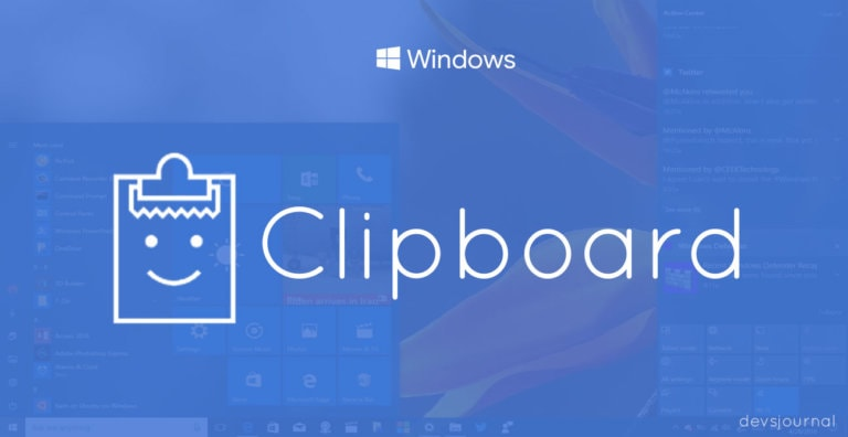 How to clear Clipboard in Windows 10/8/7
