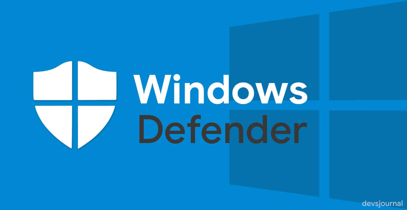 Is Windows Defender Enough to secure