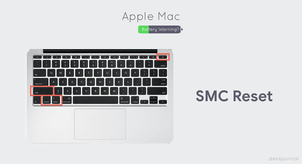 Resetting the System Management Controller in Mac