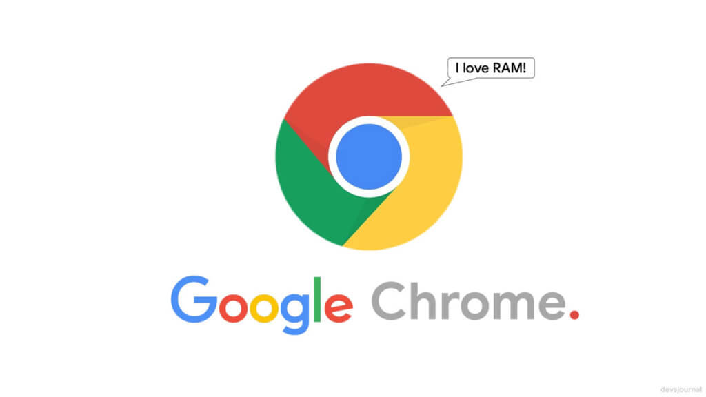 Google Chrome consumes so much RAM