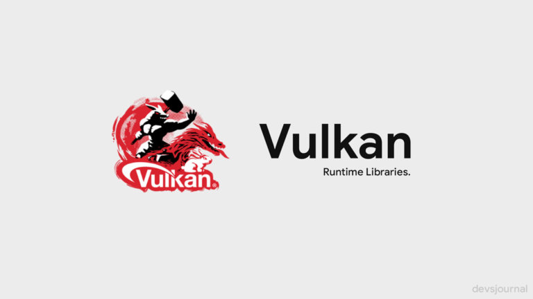 What is Vulkan Run Time Libraries in Windows?