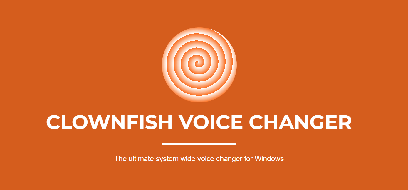 Clownfish Realtime Voice Changer for Windows