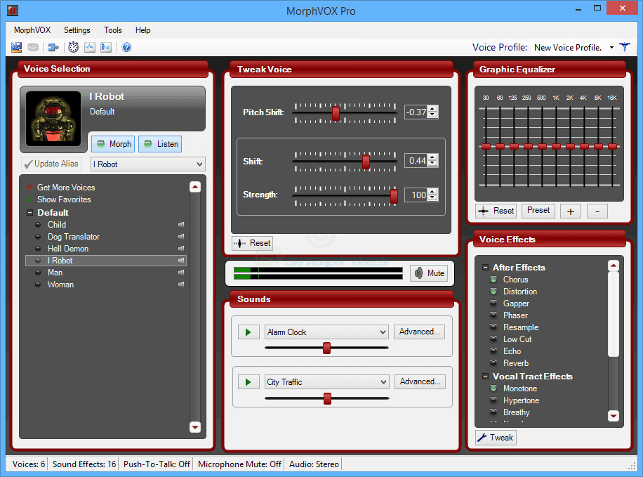 MorphVox Realtime Voice Changer Software for free