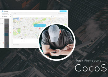 Track iPhone location using CocoSpy