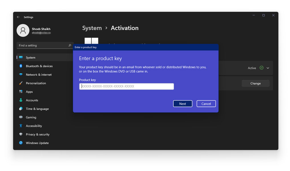 how to get rid of activate windows 11