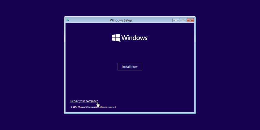 Enter Safe Mode in Windows 11 using a Bootable USB Device