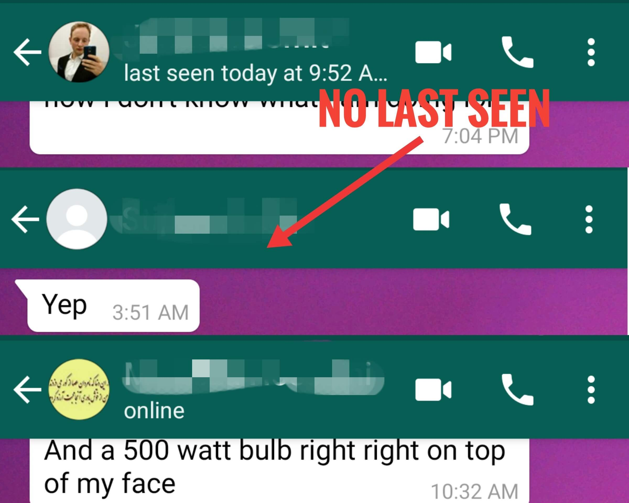 5 ways to tell if someone blocked you on WhatsApp?