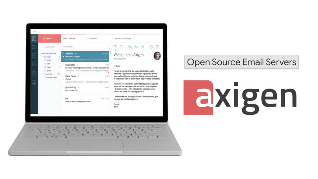 Axigen is the best Open Source email server