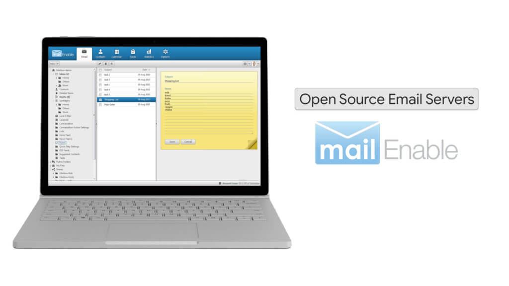 Opensource Email Server Mailenable