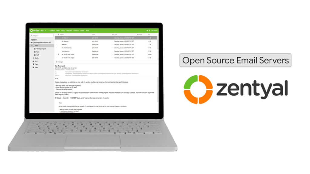 Zentyal Open Source Email Server Download