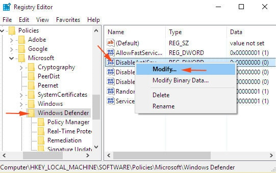 How to Fix Windows Security (Defender) that's not working.